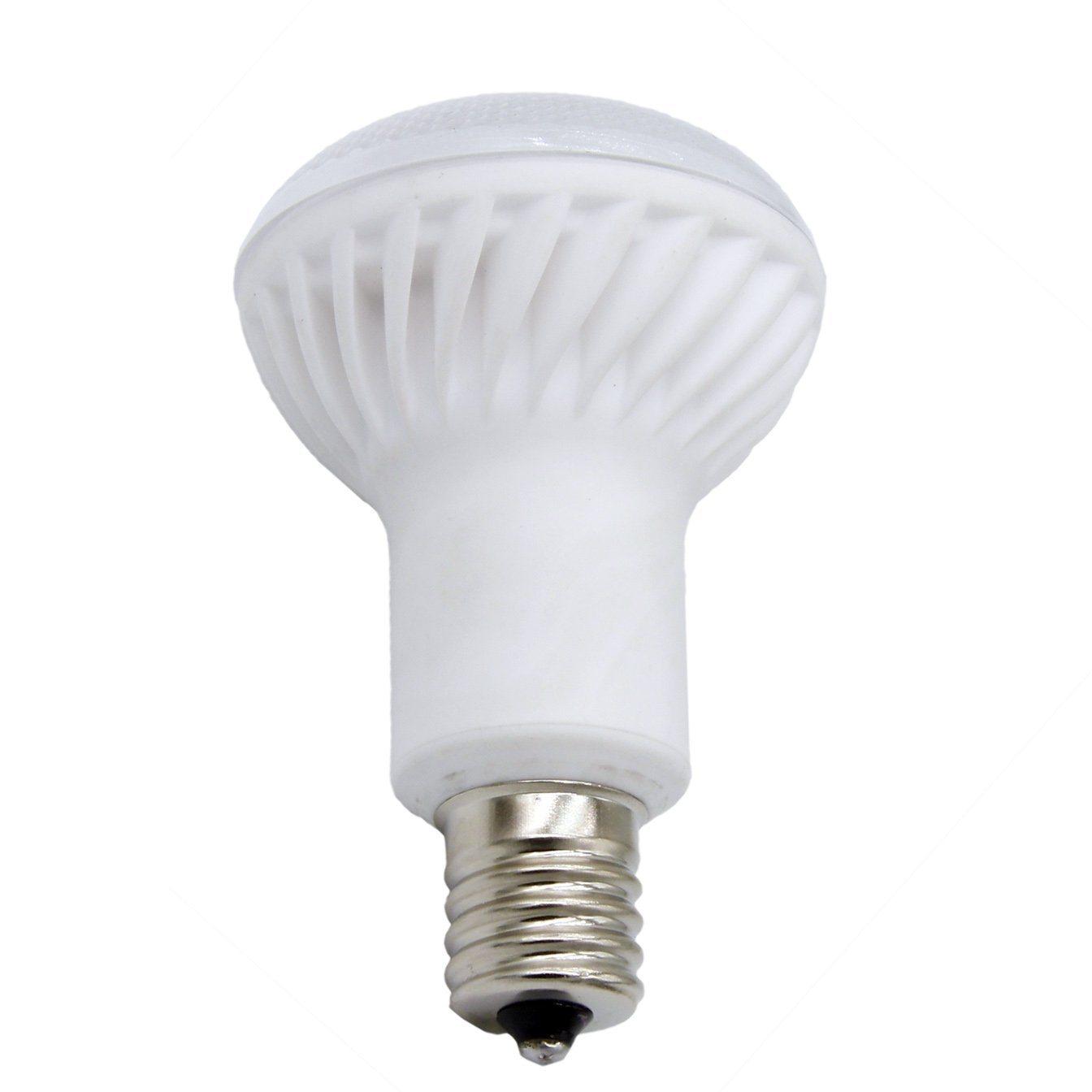 Il bianco caldo della lampadina di E17 R14, 2700K, la base intermedia, 120 volt, uguaglia la lampadina dell'interno bassa intermedia dell'inondazione da 40 watt