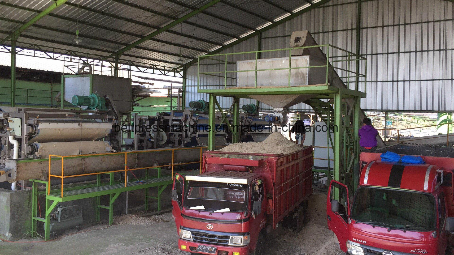 Riemen-Presse-Filter für die überschüssige Tapioka-/Manioka-Massen-Entwässerung