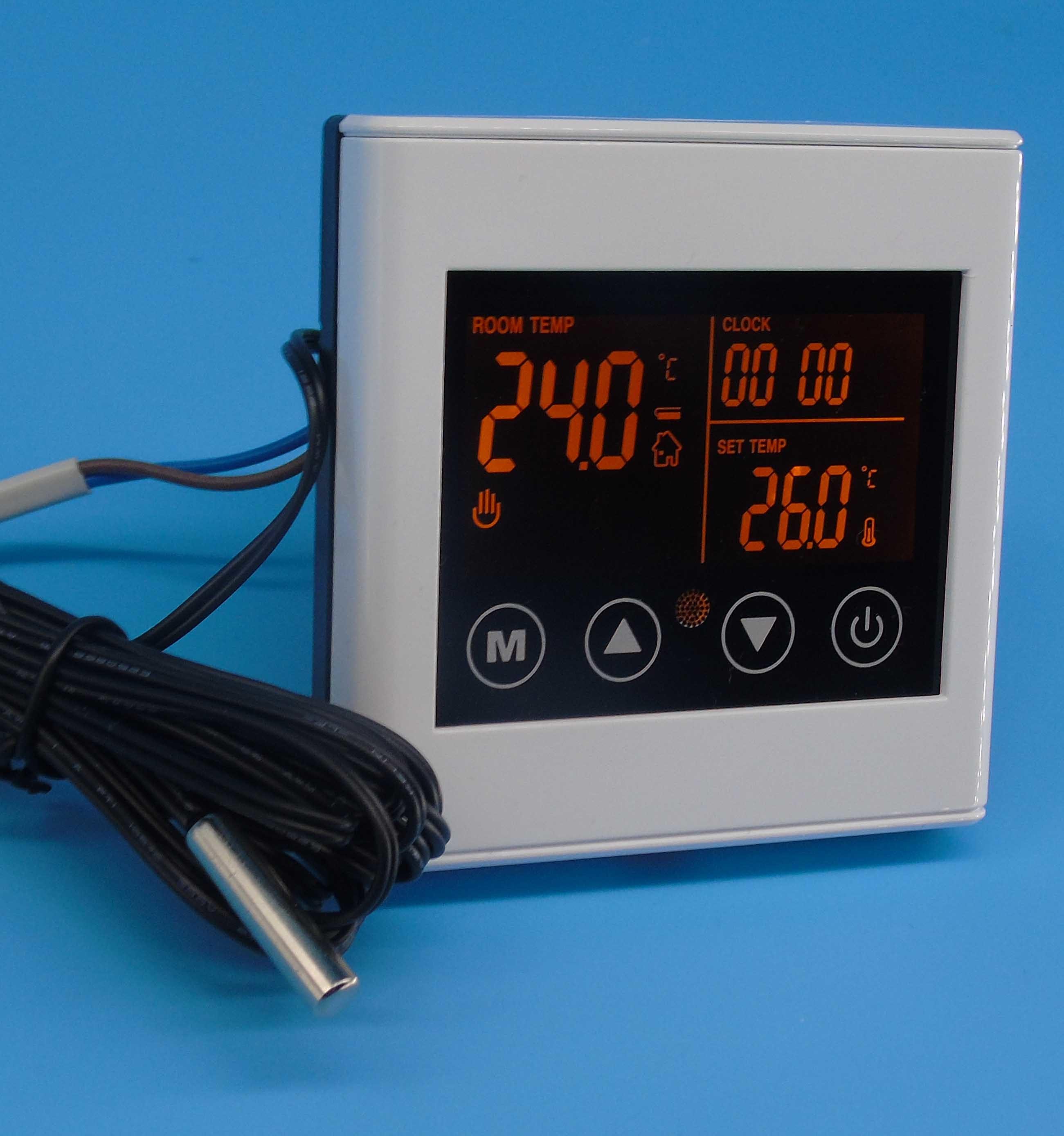 La pantalla t ctil calefacci n por suelo termostato for Precio termostato calefaccion