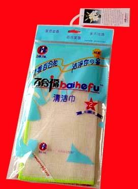 Baihefu-reinigingsdoekje zonder houtachtige vezels, voordelig type (2 stuks per verpakking)