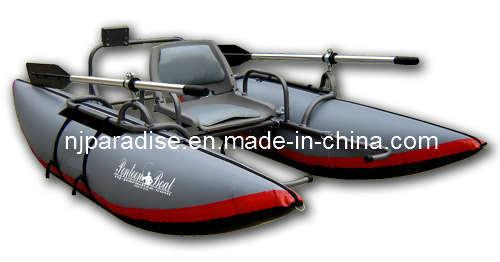 un seul bateau de p che gonflable en pvc de kayak de mettre en place avec le moteur un seul. Black Bedroom Furniture Sets. Home Design Ideas
