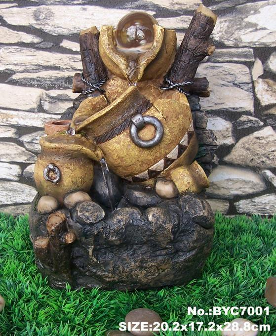 Fuentes de agua de interior de la resina fuentes de agua - Fuentes de interior decorativas ...