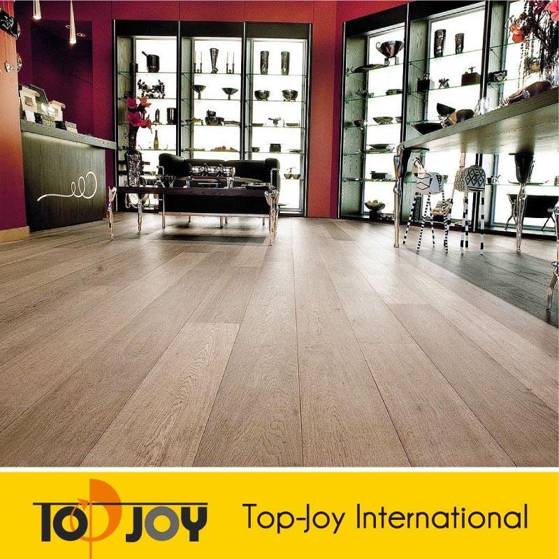 El mejor precio del grano de madera pisos de PVC de vinilo (E-8013S)