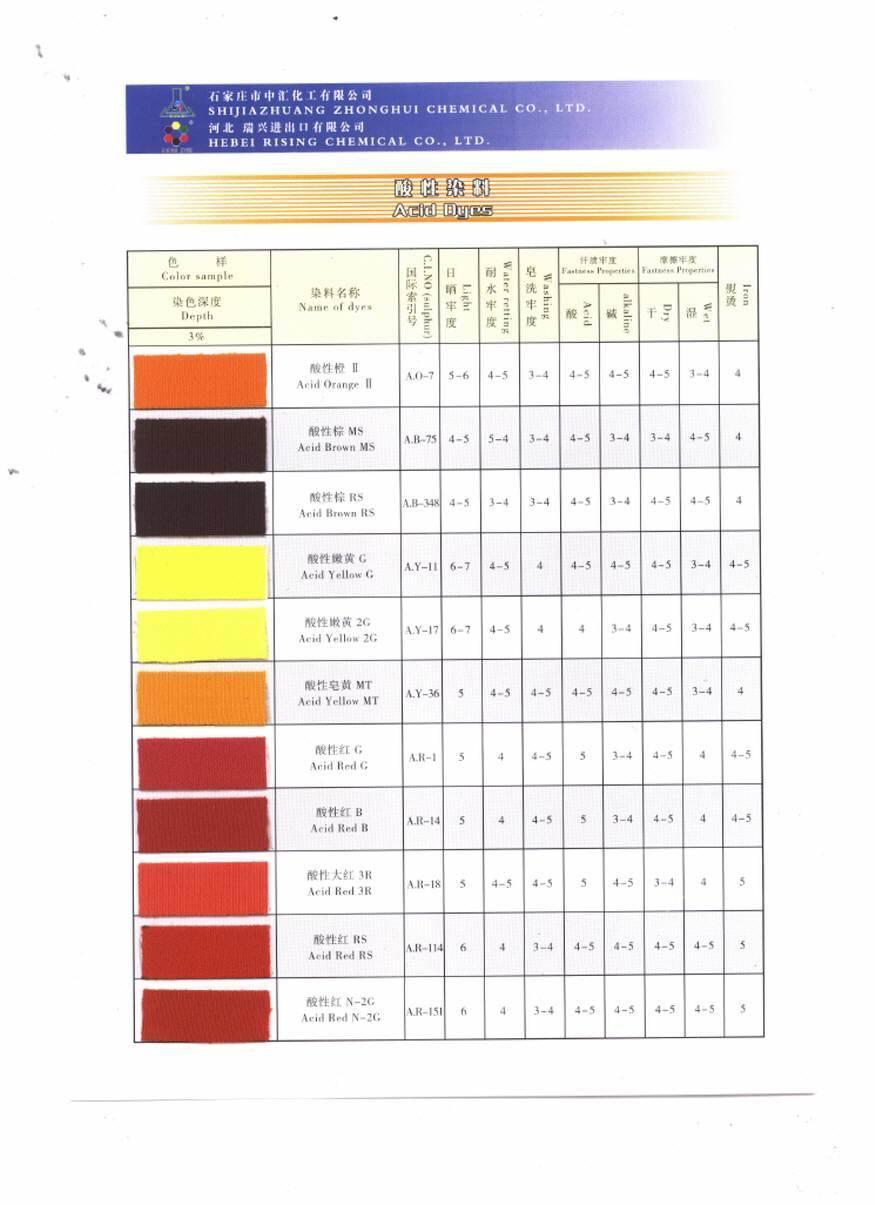Säure-Farben