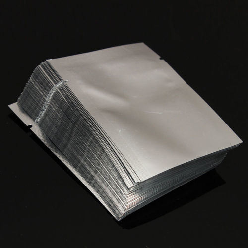 Bunte kleine lamellierte Aluminiumfolie Plastik des Drucken-Pet/Al/PE sackt Folien-Puder-Beutel des Beutel-drei Seite heißen versiegelt ein