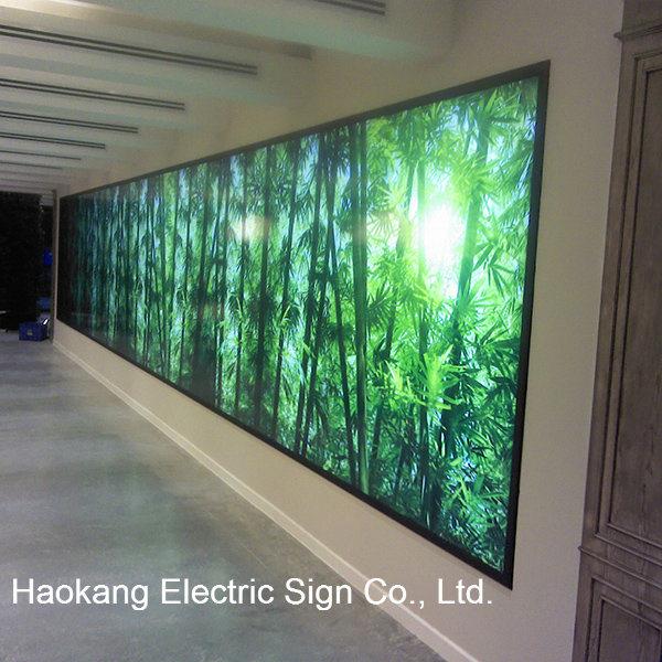 LED Backlit Frame, Poster, Photo - Big Naked Wall - (EN