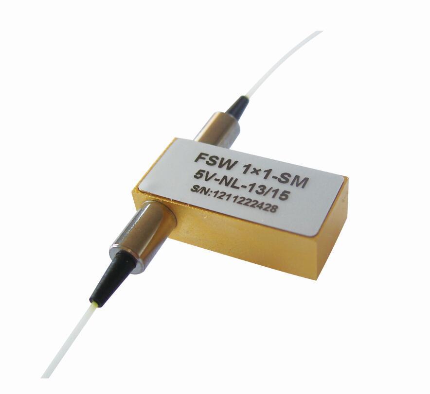 1x1 mécanique de l'interrupteur à fibre optique