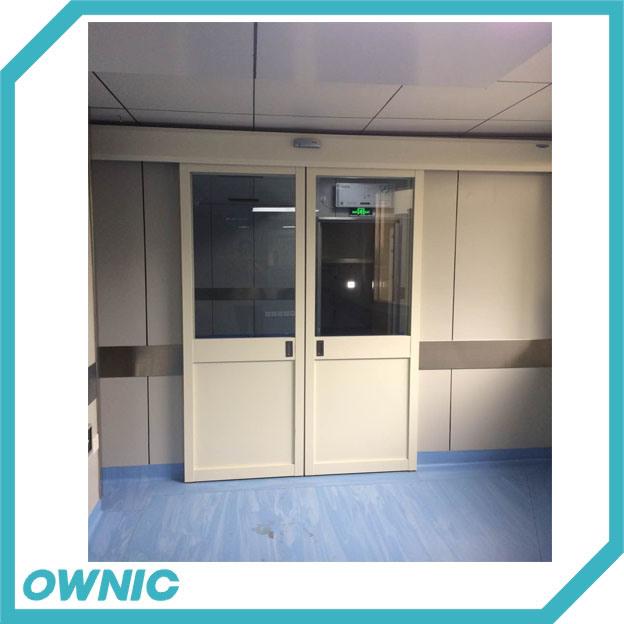 Puerta automática de la puerta interior de la puerta de cristal El proyecto del Hospital
