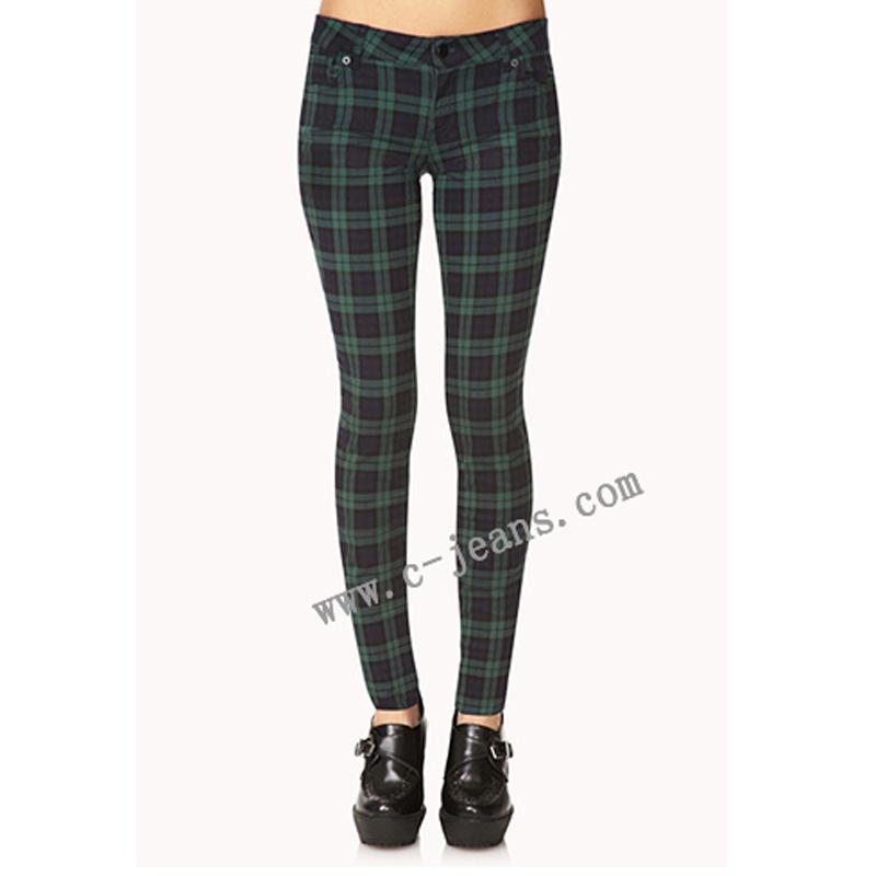 Señora Ocio Skinny Jeans jeans de moda ropa de mujer (14169)