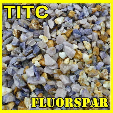 A CaF2-90%Min espatoflúor/Fluorite de cálcio