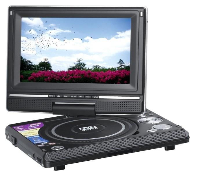 7-дюймовый портативный DVD плеер DS79