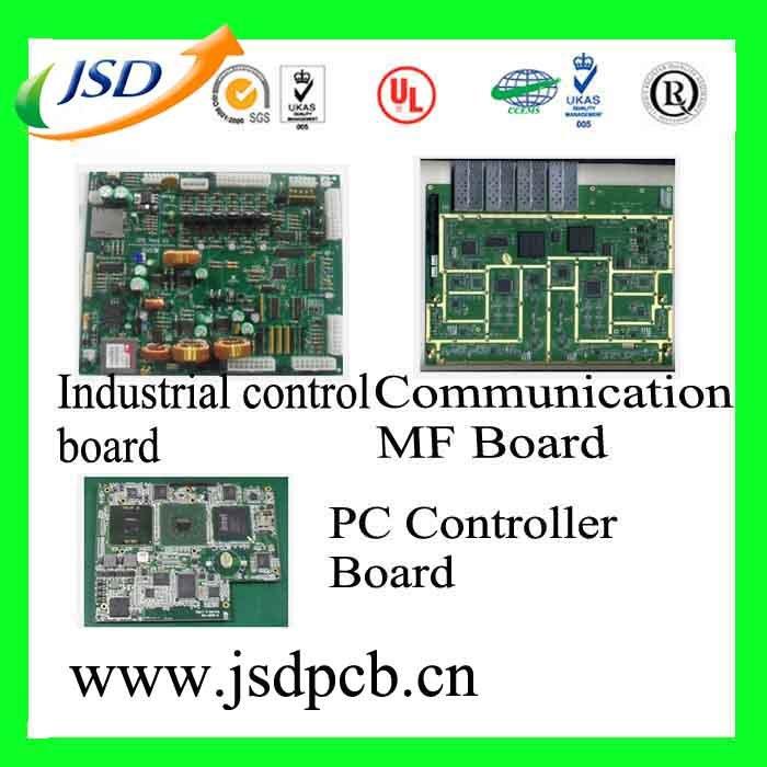 Raad van de Kring van de Prijs van de fabriek de Hoge Nauwkeurige Multilayer PCB Afgedrukte