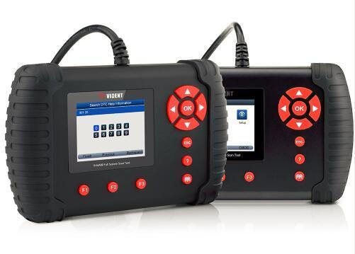 Vident Ilink400 Outil de numérisation automatique complète du système ABS/SRS/epb//régénération DPF/d'huile réinitialiser Ilink400 couvrir plus de voiture que Foxwell NT510