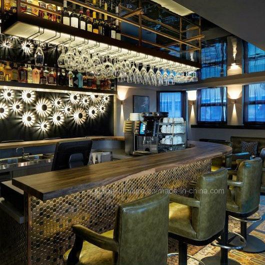 Foto de (SD3023) Combinación moderno restaurante bar de madera ...