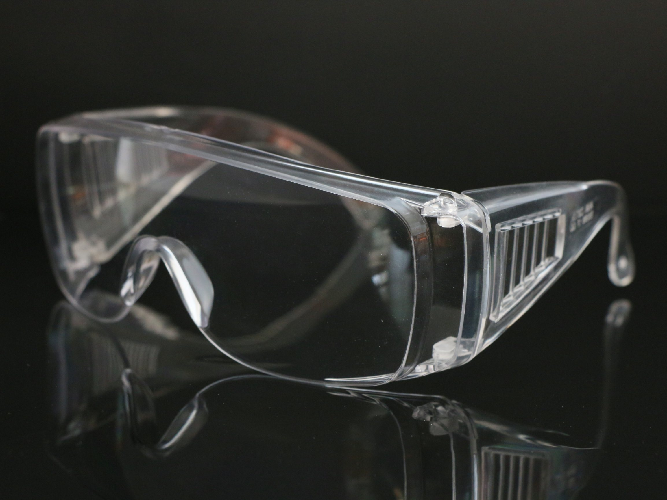 نظارات واقية واقية واقية من البولي كربونات الواقية الواقية الواقية الواقية الواقية الواقية الواقية من الصدمات مع عدسة مقاومة للصدمات للخارجية
