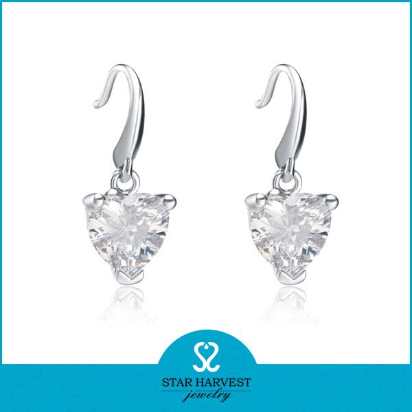 2015 La suerte de amor 925 Sterling Silver Earring para descuento (E-0194)