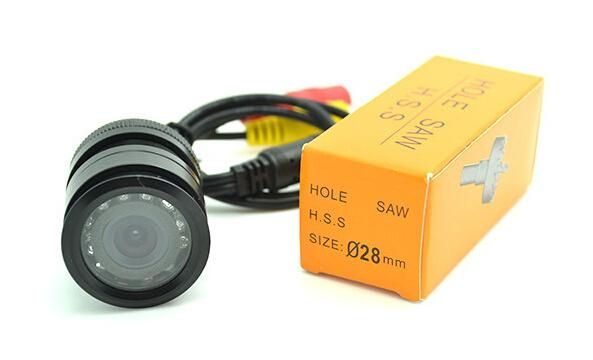 Wasserdichte Nachtsicht-Universalauto-Kamera - Vorderseite oder rückseitige Ansicht