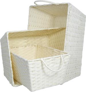 VoPaperのひもS/3の貯蔵のBasketsileの正方形のスカーフ(3674)
