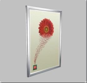 전시 LED 가벼운 상자 광고