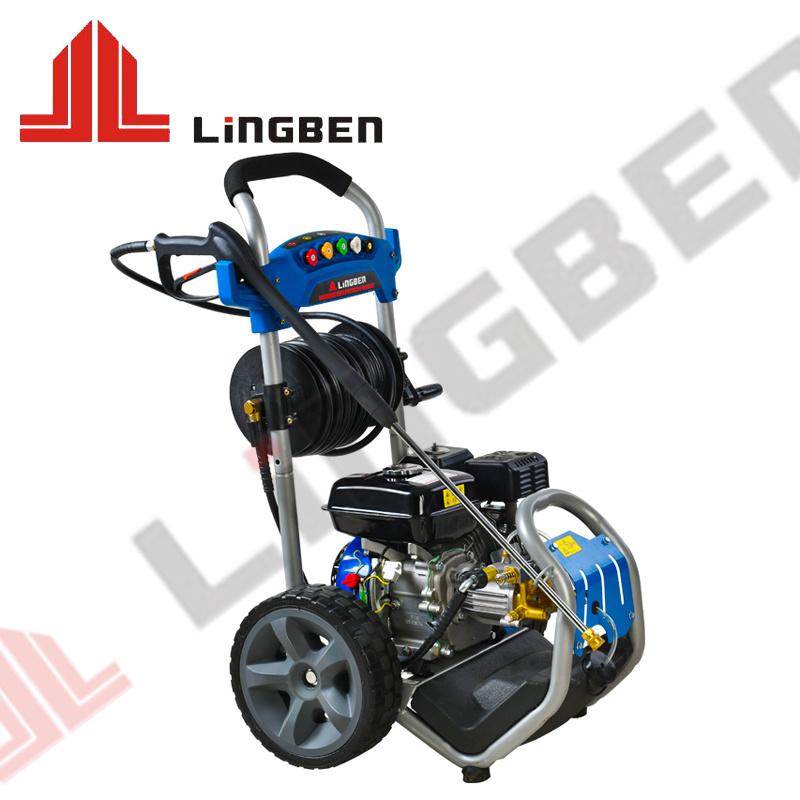2.7gpm Elektrische benzinemotoren hogedruk-waterstraalwagen Wasmachinereiniger