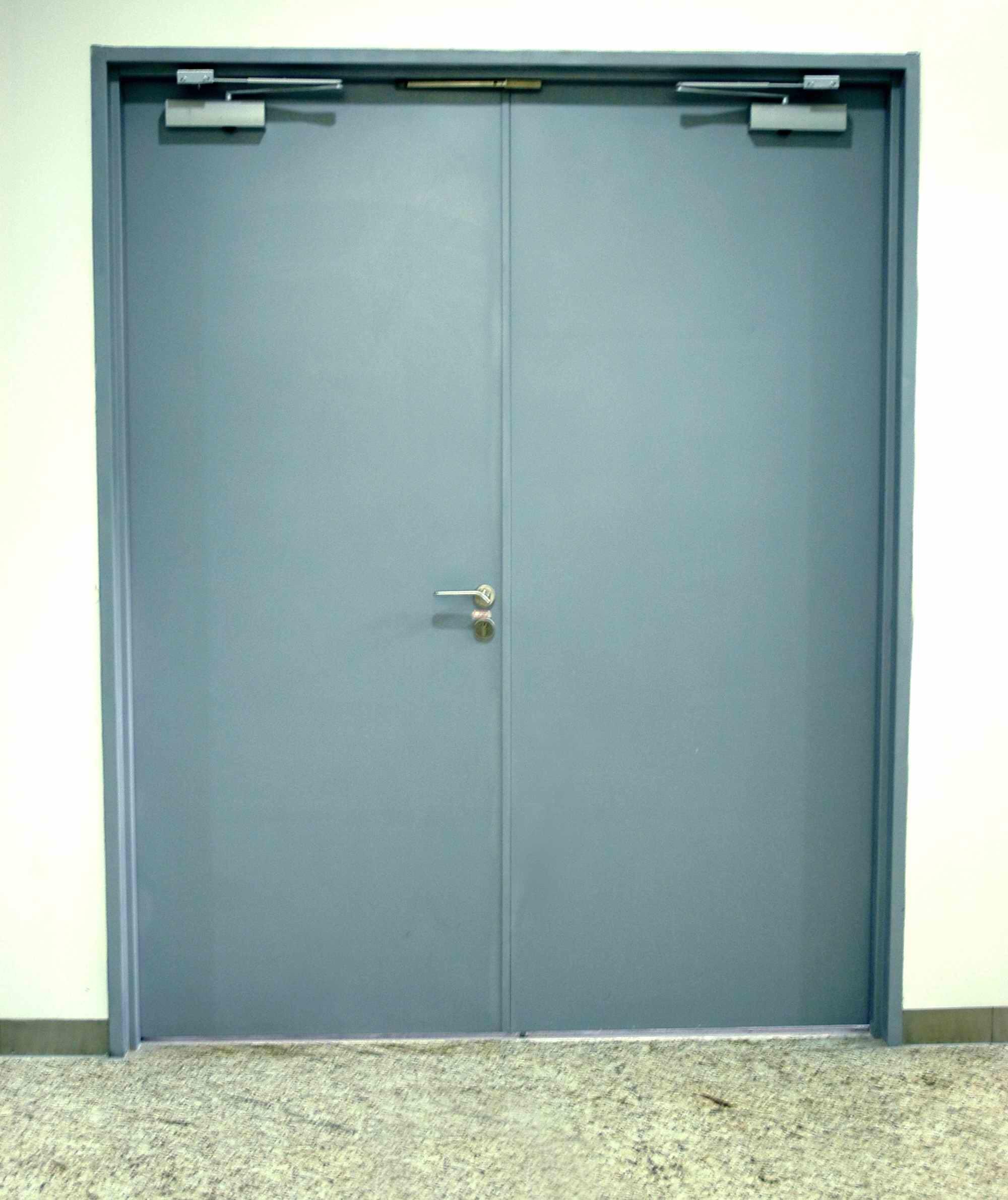 Porta tagliafuoco in acciaio UL (DDL-3.0H/UL)
