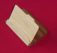 El bambú Cardcase