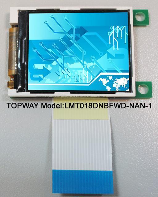 """128X160 TFT LCD Bildschirmanzeige 1.8 """" LCD-Baugruppe (LMT018DNBFWD-NDN)"""