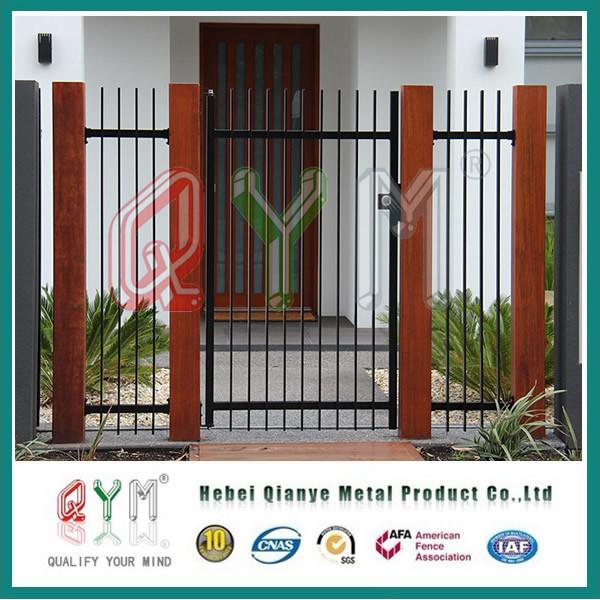 Les modèles de clôture de la palissade en fer forgé jardin ...