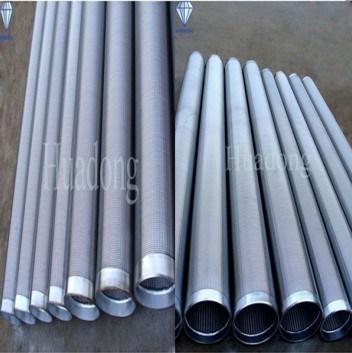 Tubi galvanizzati del filtro per pozzi dell'acqua della scanalatura di V (HD-W219) – Tubi ...