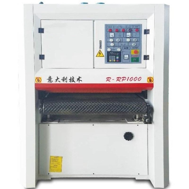 Holzbearbeitungsmaschinen R-RP1000 Schwerlast-Breitband-Sander Schleifmaschine