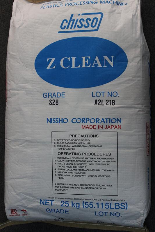 Resin-Based composto de purga para o extrusor e máquina de moldagem por sopro