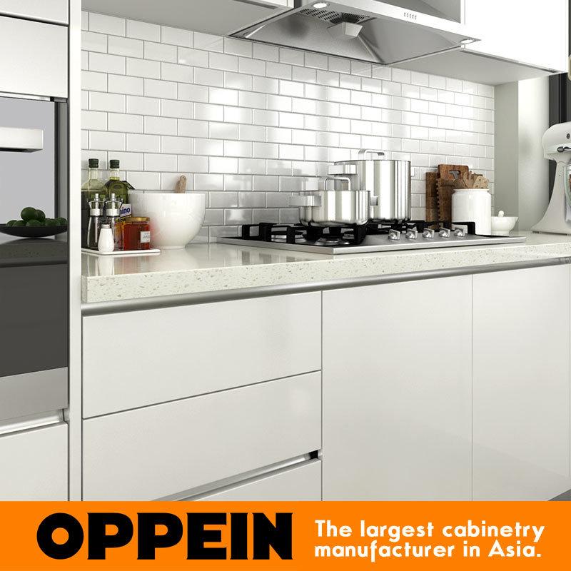 Foto de Laca esquina Modular moderno gabinete unidades de cocina con ...