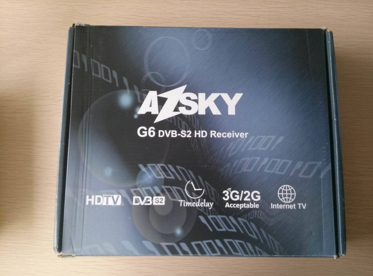 azsky g6 software