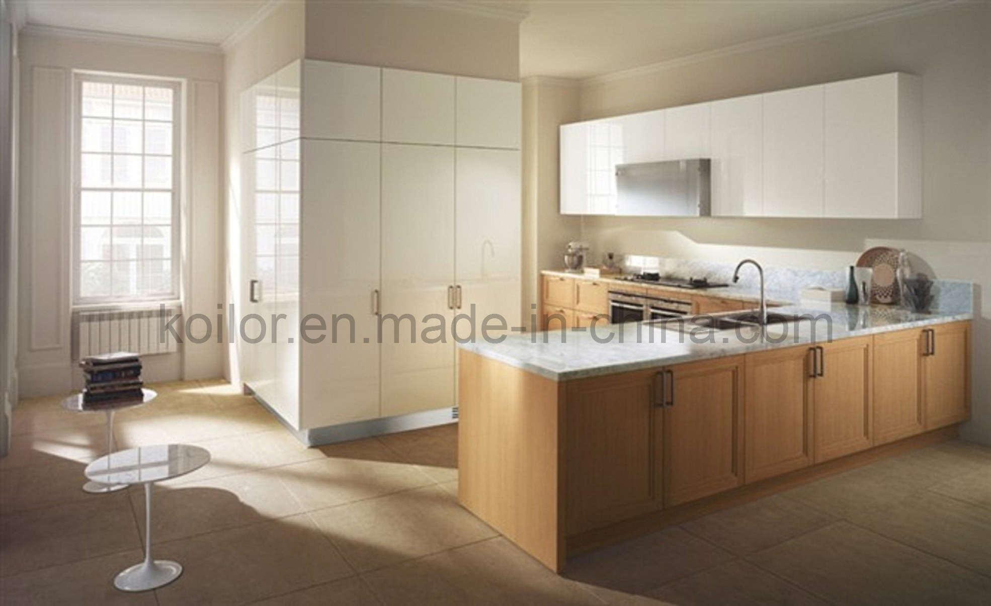 Armarios de cocina de madera sólida (tranquila bahía) – Armarios de ...