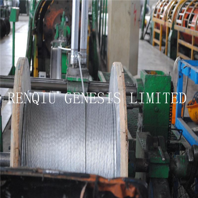 مصنع مباشرة يبيع [1إكس7] يغلفن فولاذ طاق
