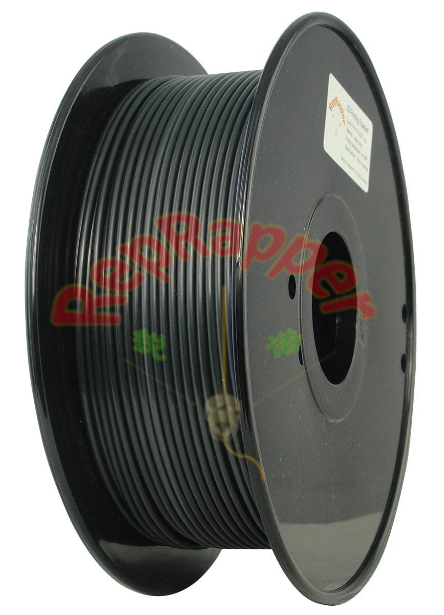 Además de nylon en espiral negro de 3,0 mm de filamento de impresión 3D