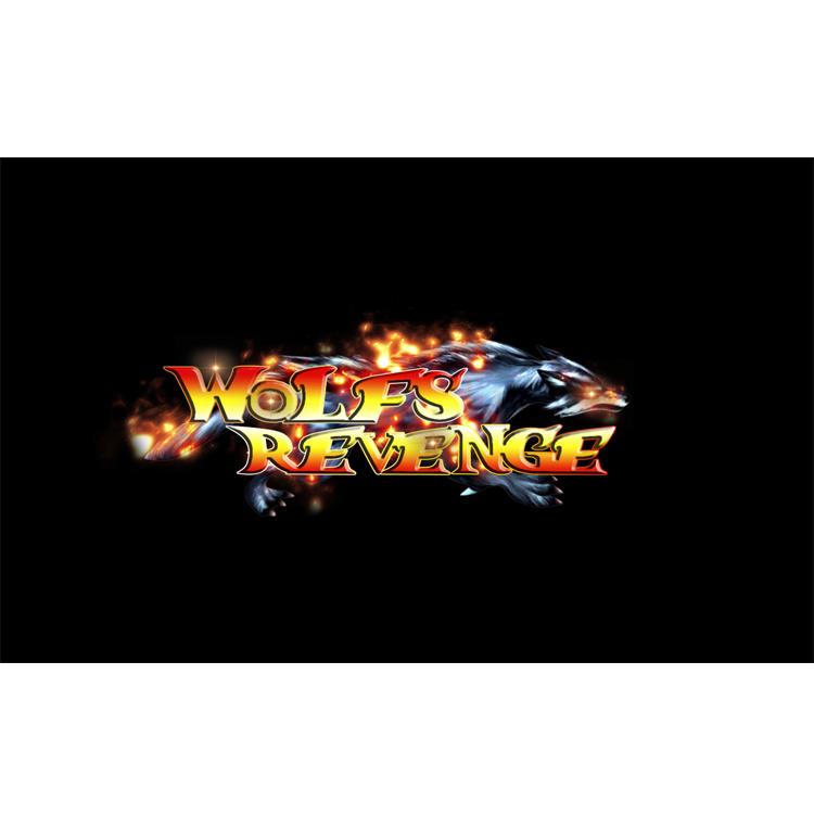 Venta caliente Wolfs venganza la máquina de peces juegos de mesa de juego de habilidad Juego de pesca para la venta de software
