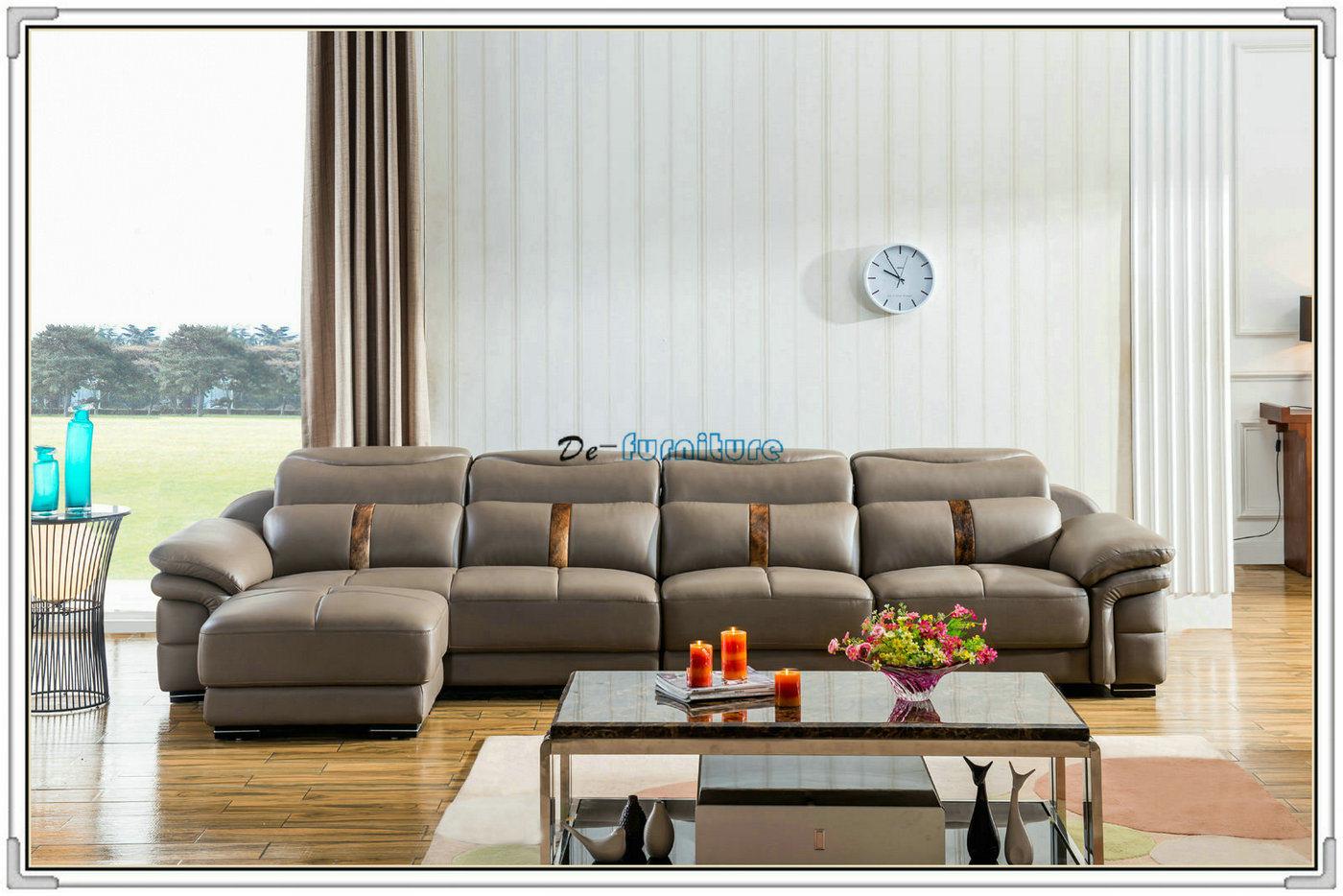 Foto de La alta calidad Sala de estar sofá de cuero muebles (M221 ...