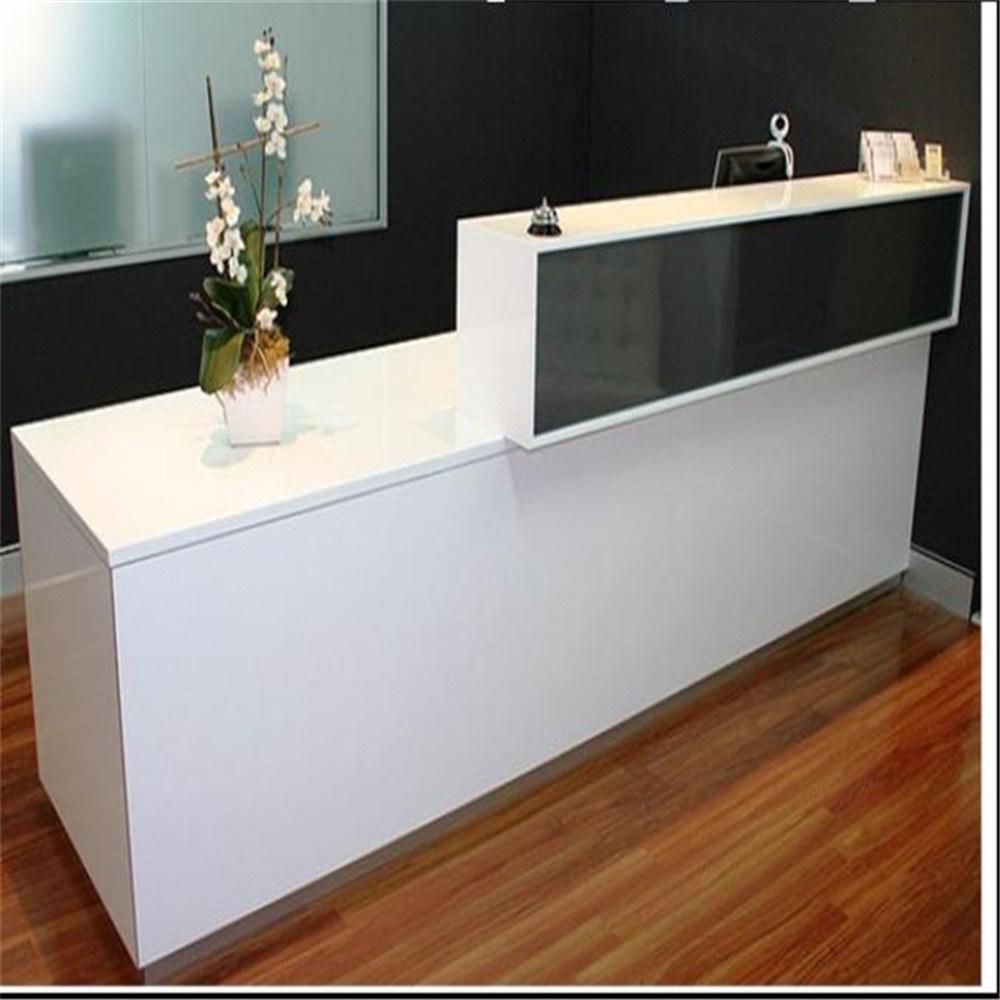 Foto de superficie s lida recepci n personalizada de muebles muebles de dise o de mostradores de - Disenos de mostradores ...