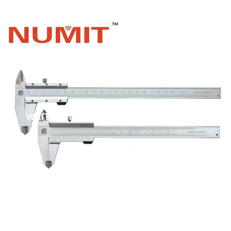 0-150mm medidor Vernier de profundidad de acero inoxidable para diversos tipos de procesos de maquinaria Calibrador Vernier de profundidad