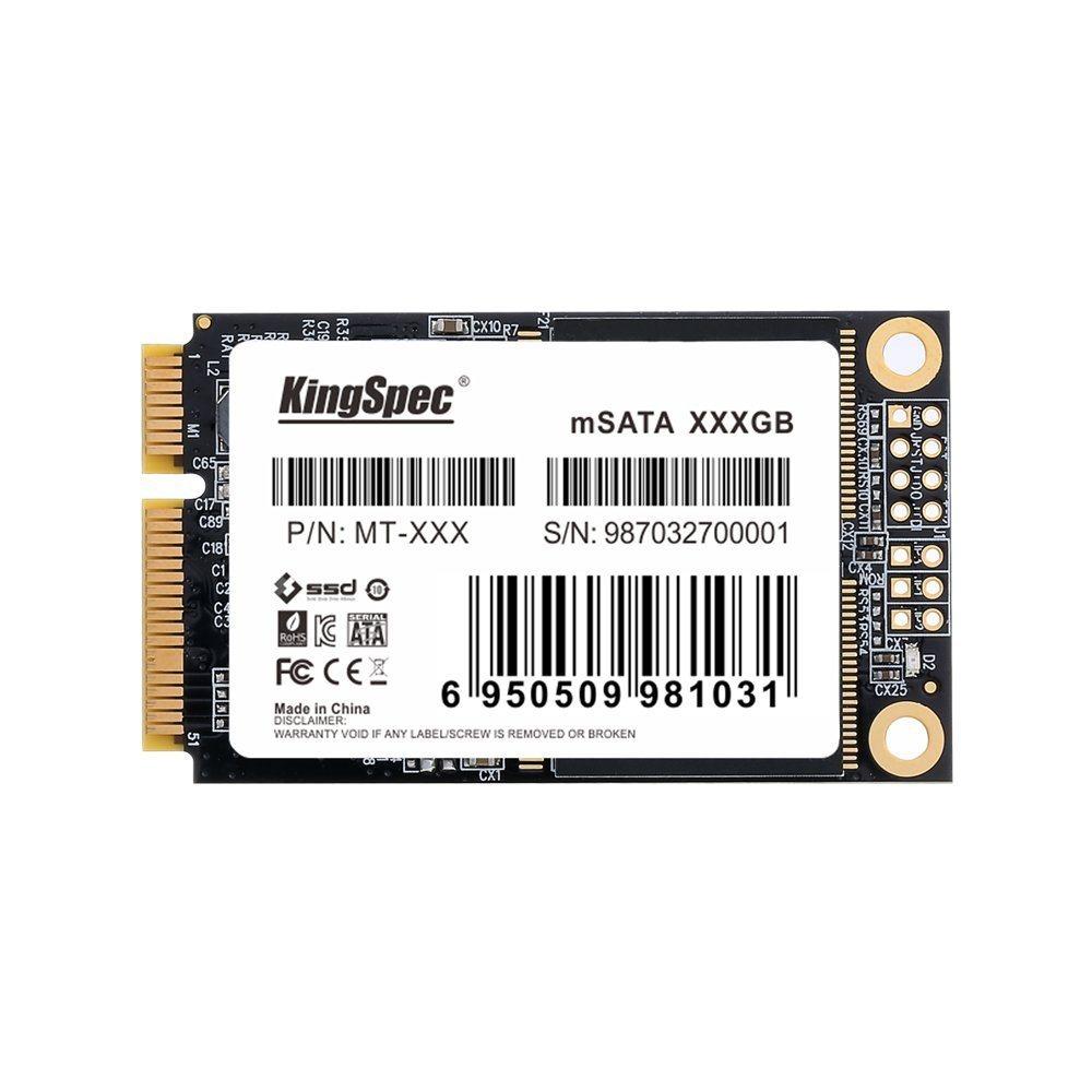Azionamenti duri interni per il PC industriale del grado, posizione, PC dello SSD di Kingspec 1tb Msata del ridurre in pani