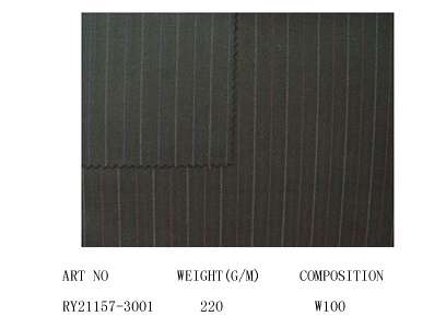 Worsted Wool Fabric (21157-3001)