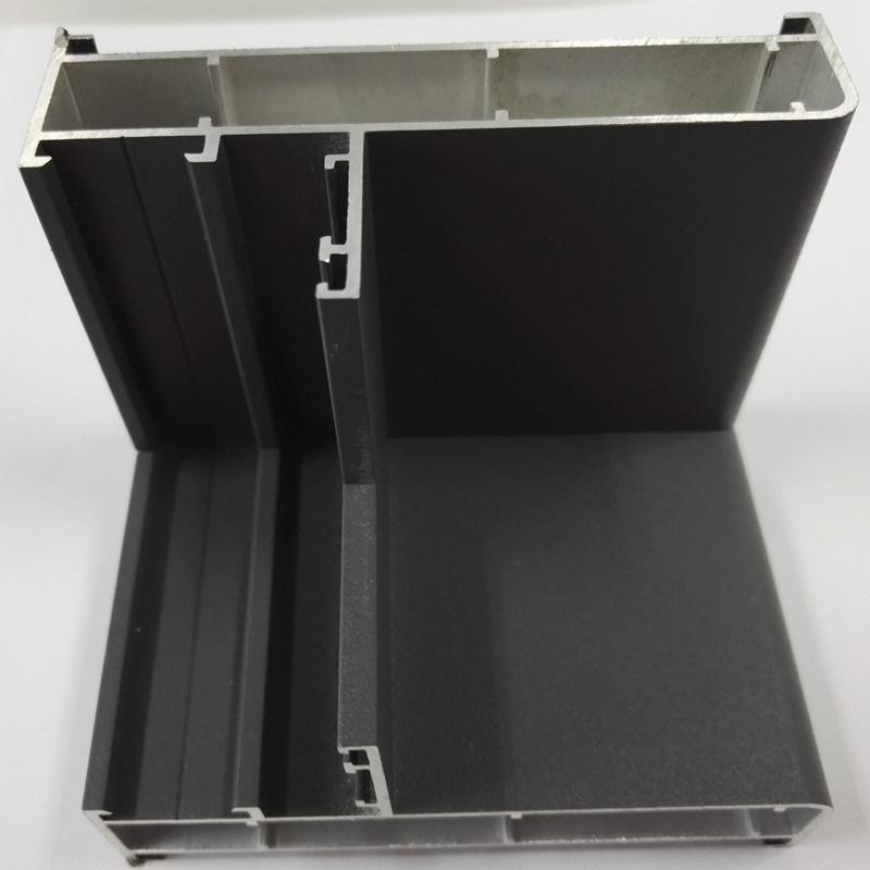 De Profielen van het aluminium voor de Muur van het Glas van de Deur en van het Venster