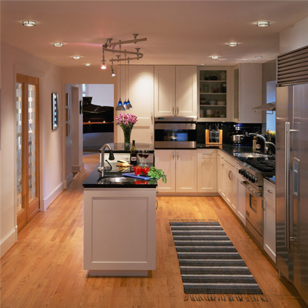 Diseño de madera maciza natural Arce Armario Muebles de Cocina ...