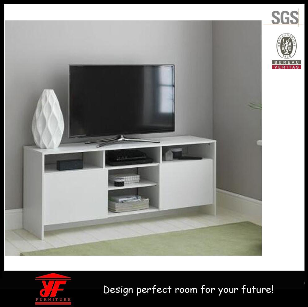 Meuble Tv En Coin nouveau modèle de coin blanc moderne en bois meuble tv led