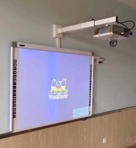 82pouces tableau blanc interactif SMART avec un projecteur pour l'école