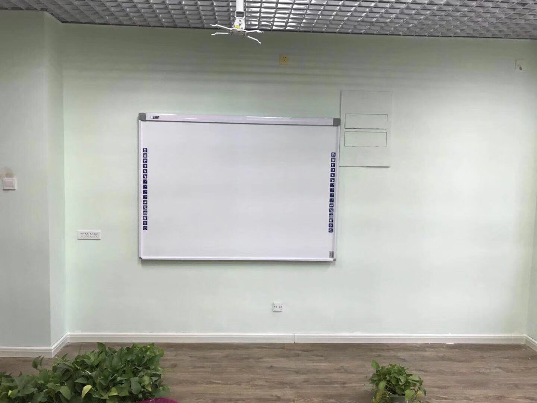 Tamanho grande 100polegadas quadro branco interativo de infravermelhos Molyboard placa inteligente com 10 pontos para a Educação