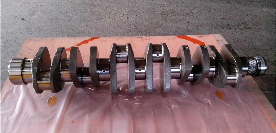 Mann-Motor-Kurbelwelle D0834 schmiedete Kurbelwelle