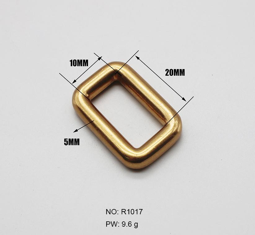 قطع معدنية زينة أللوي 6 نقاط إبزيم مربع