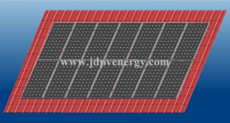 太陽エネルギーの土台システム(JDM300)